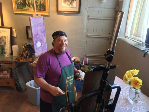 Seamus Berkeley new paintings 2017